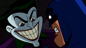 The Joker and Batman from the episode, ""