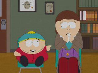 cartman and his mother