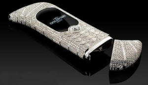 I told my wife a diamond-studded phone was going overboard, but she just wouldn't listen