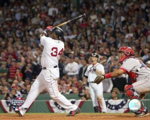 Ortiz doing something he hasn't doo too often in 2009 -- hitting the ball well