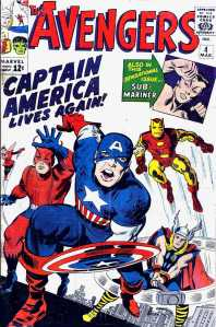 The book that's #1 on my wish list -- the Avengers #4